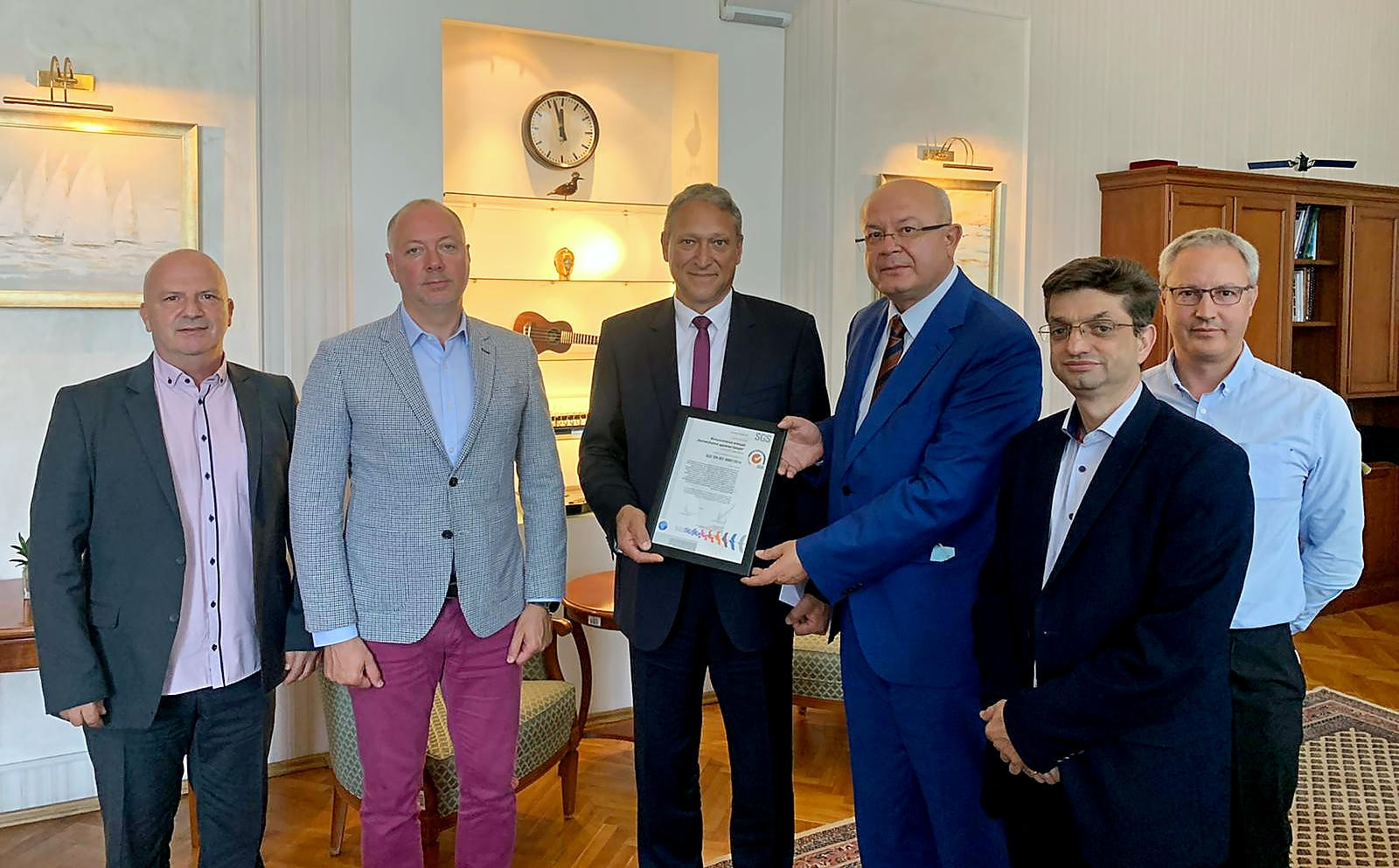 SGS Bulgaria certifies the Executive Agency 'Road traffic administration' according to ISO 39001 - Road Safety Management System